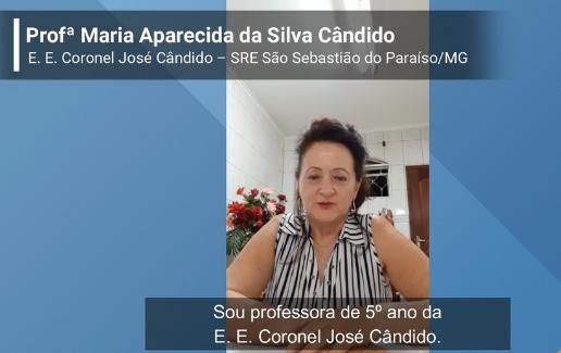 Read more about the article Depoimento – Profª Maria Aparecida da Silva Cândido
