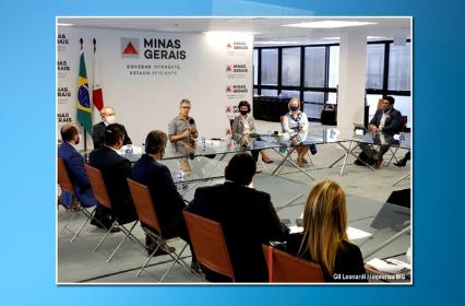 Governo de Minas e Educação comemoram os resultados da parceria com a FDG em reunião com investidores