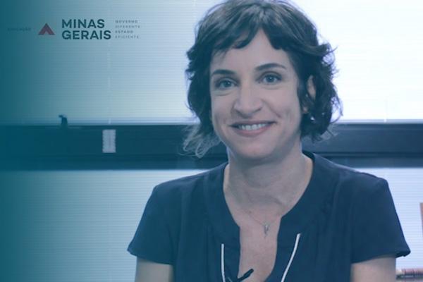 Secretária de Estado de Educação de Minas Gerais, Júlia Sant'Anna, fala sobre a GIDE e a parceria com a FDG