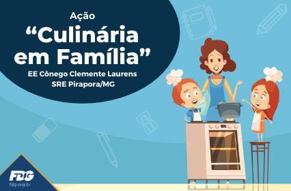"""Ação """"Culinária em Família"""""""