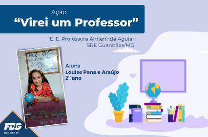 """Ação """"Virei um Professor"""""""