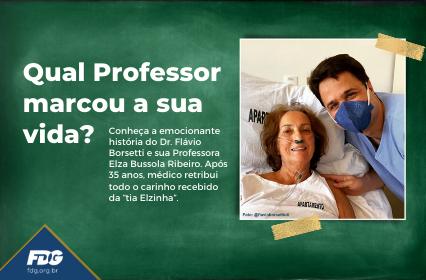 Qual Professor marcou a sua vida?