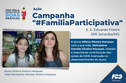 """Read more about the article Ação Campanha """"#FamiliaParticipativa"""""""