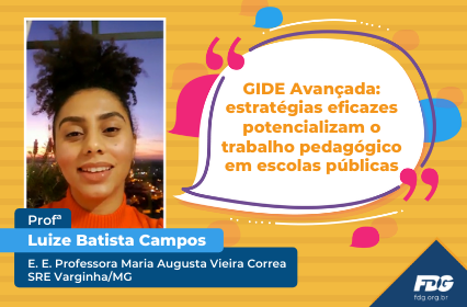Read more about the article Depoimento – Profª Luize Batista Campos