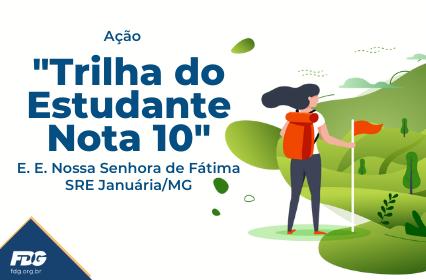 """Read more about the article Ação """"Trilha do Estudante Nota 10"""""""