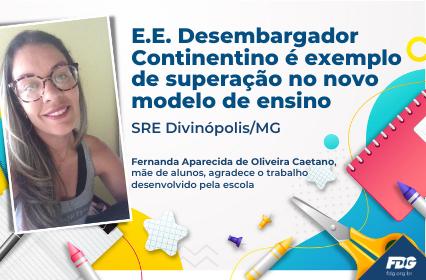 Read more about the article E.E. Desembargador Continentino é exemplo de superação no novo modelo de ensino – SRE Divinópolis/MG